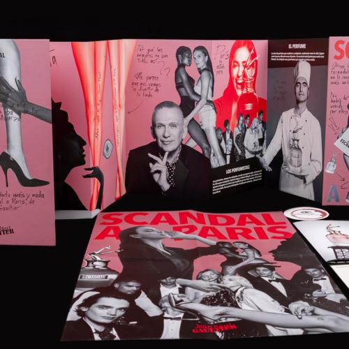Press kit Jean Paul Gaultier