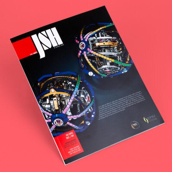 Revista impresa en rotativa